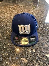 Blue NY Giants Hat - size 7