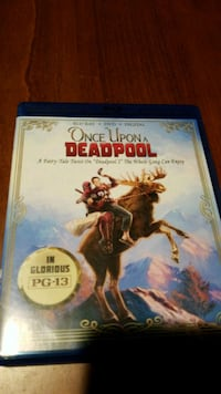 Once Uppn a Deadpool DVD/Blu Ra- No code included  Gaithersburg