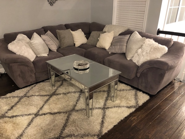 Grey Two-Piece Sectional