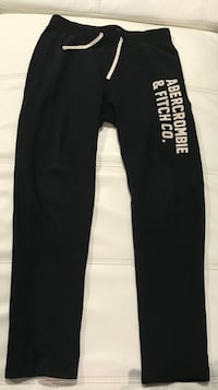 A&F fleece Joggers $20 each Sterling, 20166