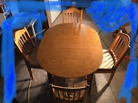 Solid wood Table and chairs  Abbotsford, V2T 4S8