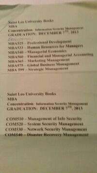 Text books 4 Sale. MBA Price is for each book.  As Palm Harbor, 34683