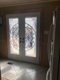 Stained glass inserts