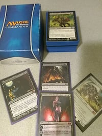 Magic the gathering deck w/ planeswalker Toronto, M8Z 3R3
