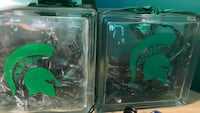 two green Knights print boxes
