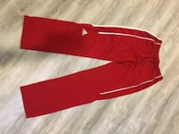 Adidas Red Trackpants Vancouver, V6A 2S5