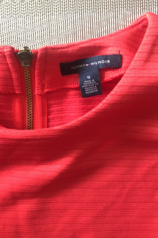 Ladies fitted dress from Tommy figure size 12 2f181e63-c32f-495f-8ee0-38197aabc9ee
