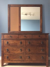 Chest of Drawers with Mirror London