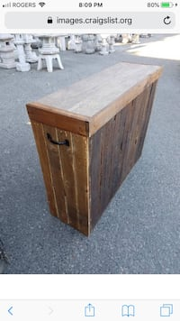 Reduced! Pallet bar for wedding or outdoor event Burnaby, V3J