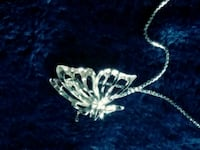 butterfly Charm and necklace Chatham-Kent