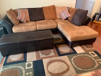 Sectional Sofa Set w/ rug & storage chest Miami, 33187