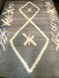 Brand new area rug 6'7x9'5 price is firm
