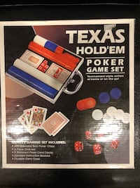 Texas Hold'Em Poker Game Set Vaughan, L4L