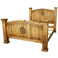 brown wooden bed frame with storage Conroe, 77304