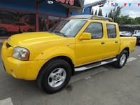 2001 Nissan Frontier 4X4 SE Crew Cab V6 Auto *YELLOW* 1 OWNER MUST SEE !! Milwaukie