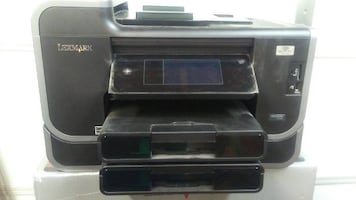Lexmark 901 Printer with add on tray. The 5$ ink printer!