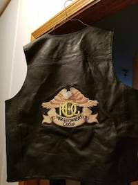 Authentic HARLEY OWNERS  Leather vest Rome, 30165