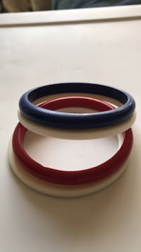 plastic bangle bracelets from the '70s Voorhees, 08043