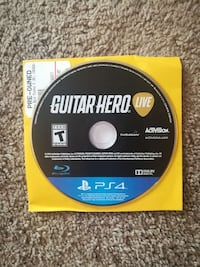 Guitar Hero Live Ps4 perfect condition