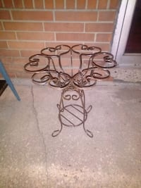 Decorative Wrought Iron Plant Stand Glenolden, 19036
