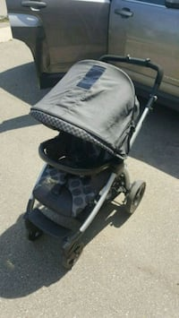 baby's black and gray stroller Burlington, L7M 0K9