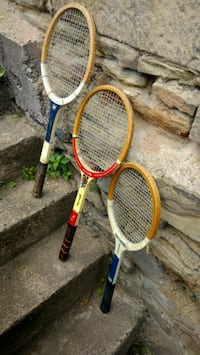 two yellow and blue tennis rackets Coraopolis, 15108