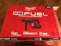 Milwaukee  [TL_HIDDEN]  SDS ROTARY HAMMER KIT (new) tool case fast charger and (2) 9.0 battery Roswell, 30075