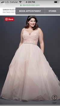 BRAND NEW wedding dress from David's Bridal Des Moines, 50315