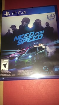 Need for speed 2015 ps4 game