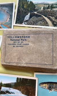 Antique Yellowstone National Park Post Cards