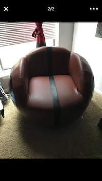 black leather padded rolling chair Monmouth Junction, 08852