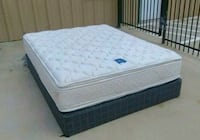 Queen Serta Double Sided Pillow Top Mattress and B El Paso