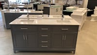"72"" double sink bathroom vanity  Vaughan, L4L"