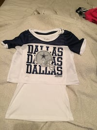 Justice girls Cowboy shirt size 12/14
