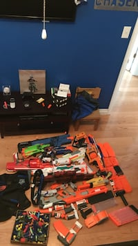 Assorted-color of nerf gun lot Cypress, 90630