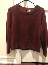 Two H&M Divided Fine Knit Sweaters Women's Small Bradford West Gwillimbury