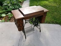 brown wooden table with drawer Ottawa, K2P