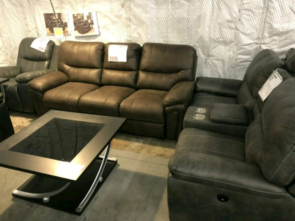 Used Sofa and air leather sofa brand new for sale in San Antonio - letgo