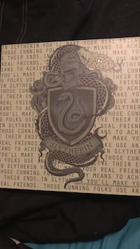 Slytherin wall art Johnson City, 37601