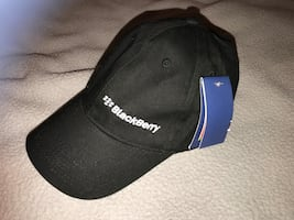 Black blackberry baseball cap