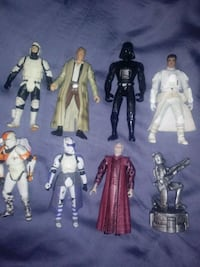 Older star wars figs $15$ all  Willoughby, 44094