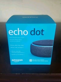 Amazon Echo Dot 2nd generation box Winnipeg, R3E 3L2
