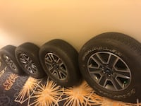 2016 Ford F-150 18inch wheels and tires Hanover, 21076
