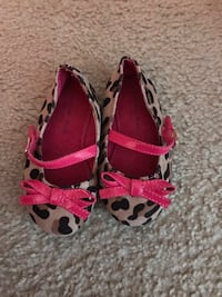 pair of red-and-black leopard print flats Lincolnia, 22312