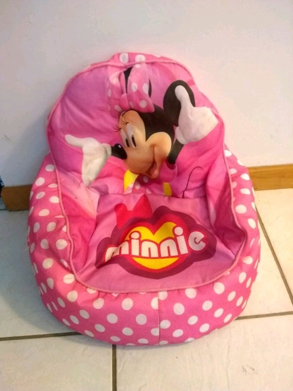Used Minnie Mouse Bean Bag Chair For Sale In Melbourne Letgo