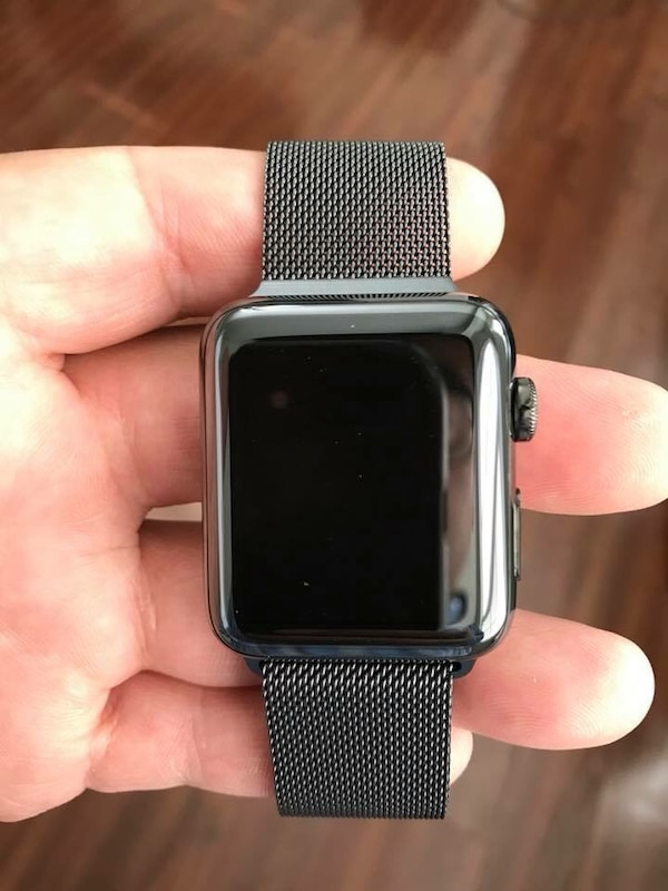 Apple Watch Series 3 (GPS+Cell) Stainless Steel 42mm with Milanese Loop &  AppleCare+ until 9/20/19