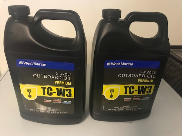 2 cycle outboard boat motor oil 2 gallons