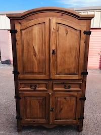 Large Real Wood Armoire