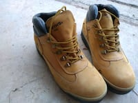 Steel toe boots by Smith 9.5