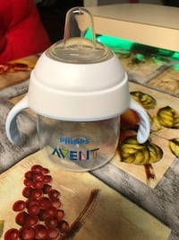 Philips Avent My Natural Trainer Sippy Cup, Clear, 5oz Revere, 02151